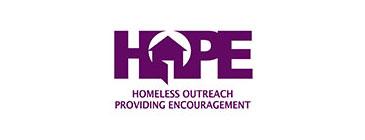 Homeless Outreach Providing Encouragement