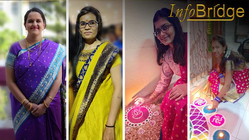 InfoBridgeTeam - Diwali Celebration at office.